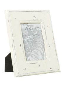 Cream photo frame, 4x6