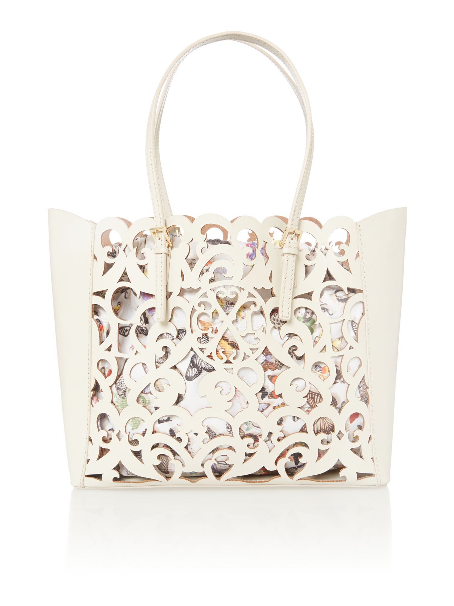 Ew cut out tote bag