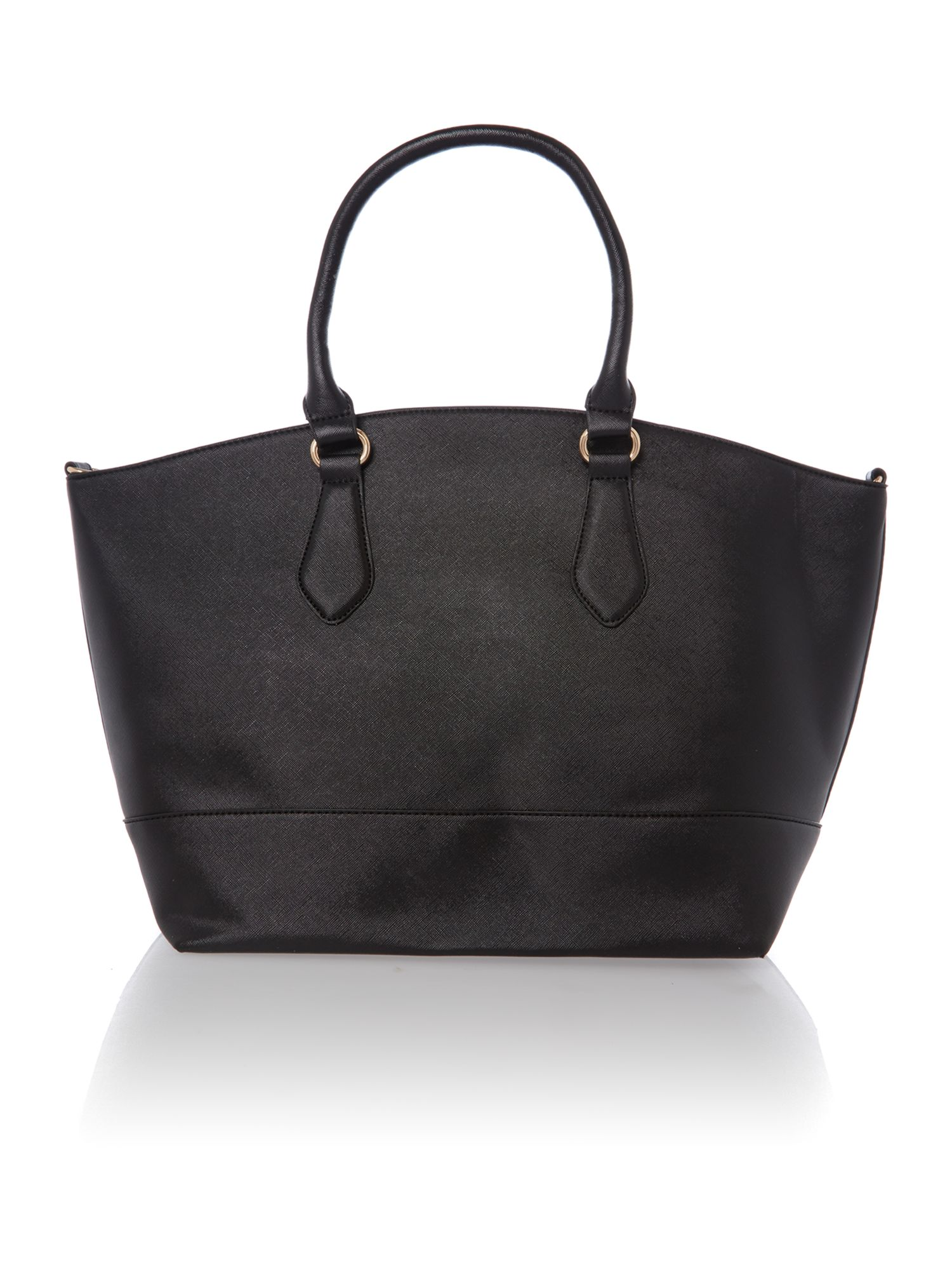 Eternity black large tote bag