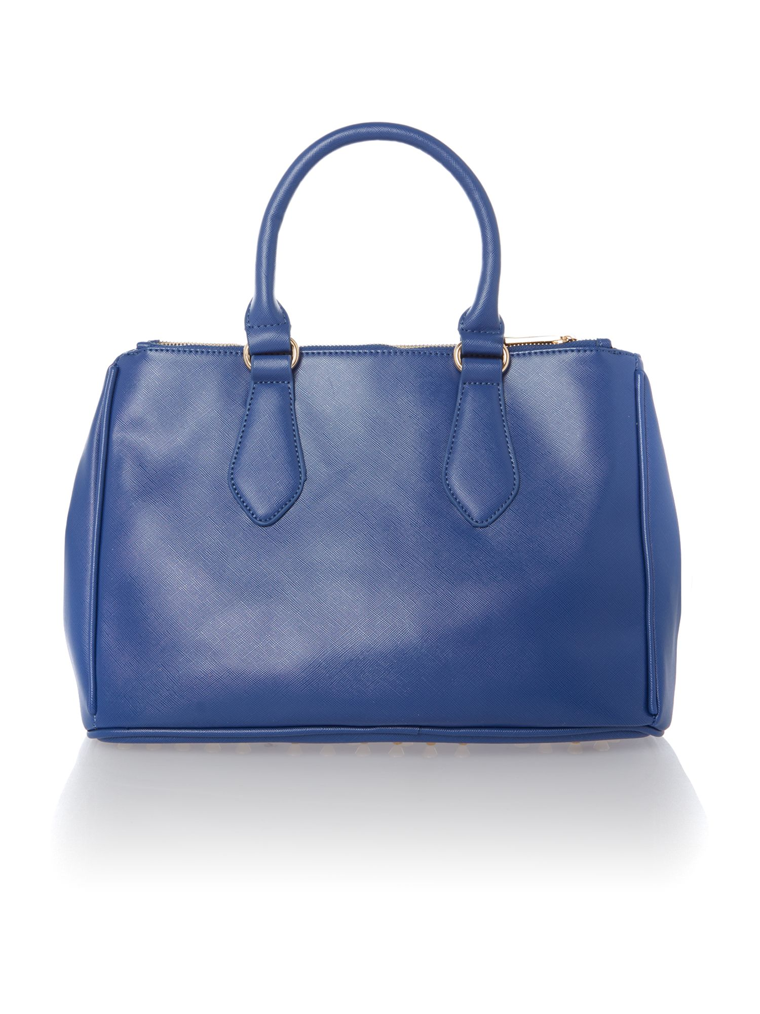 Eternity blue medium saffiano tote bag