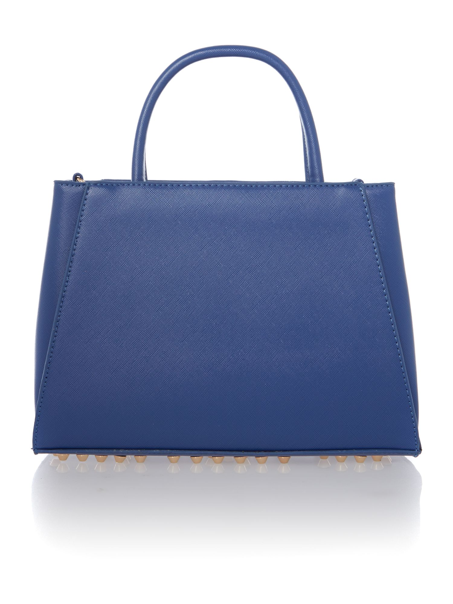 Eternity blue cross body tote bag
