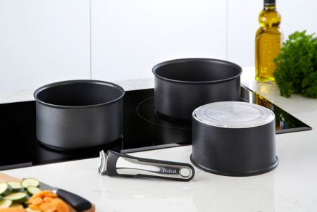 Tefal Ingenio induction saucepan set of 4 pieces