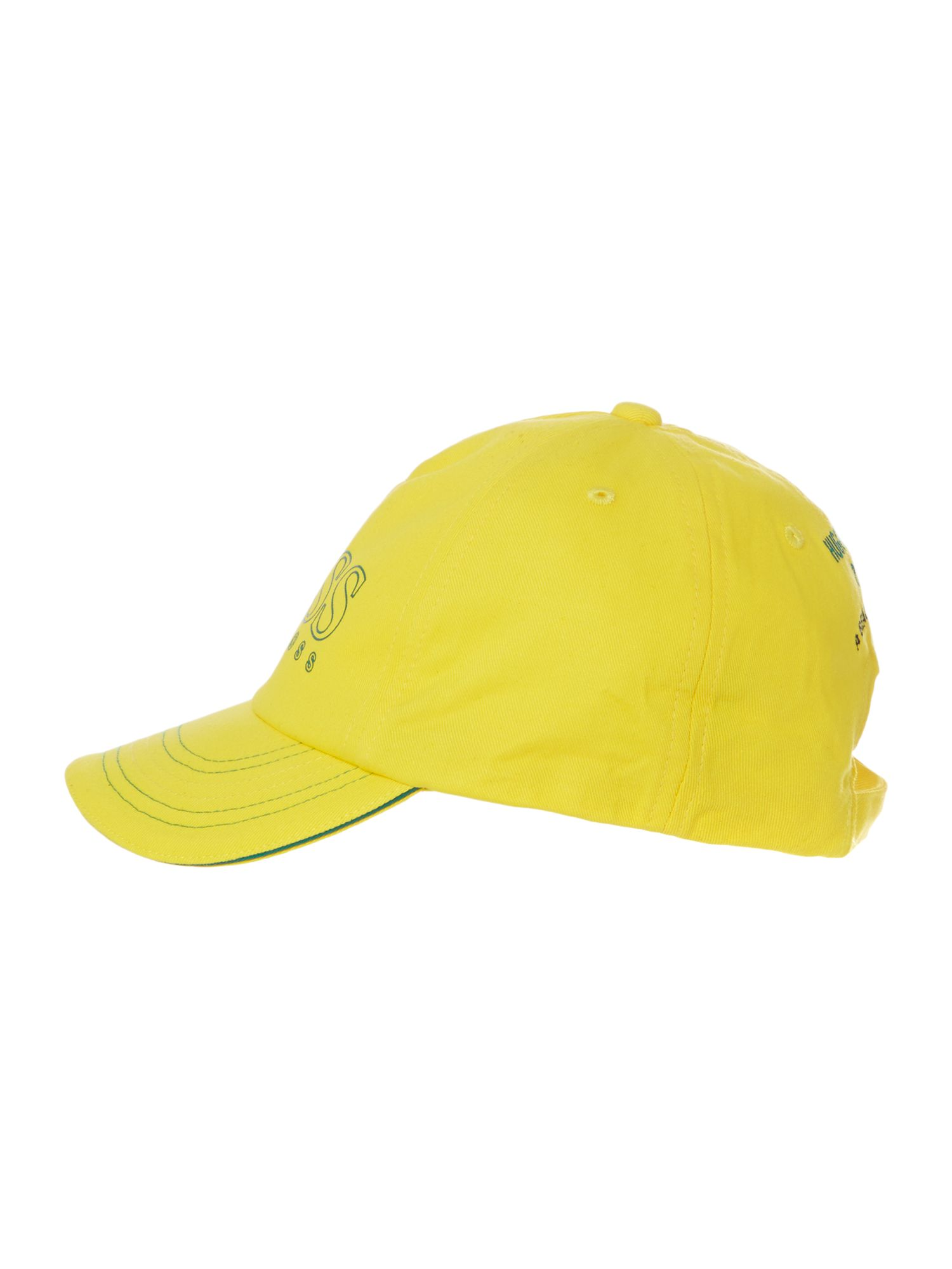 Kids Brazil football colours cap