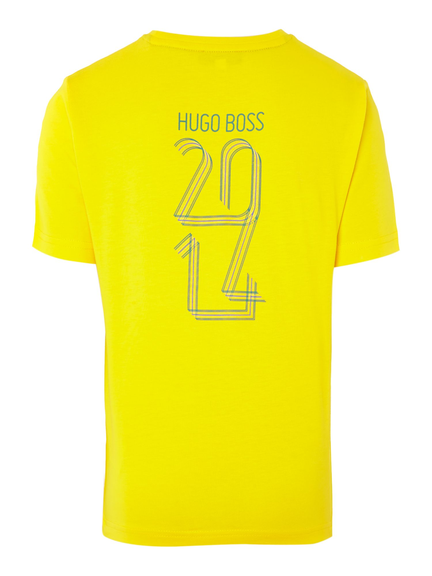 Kids Brazil football colours t-shirt