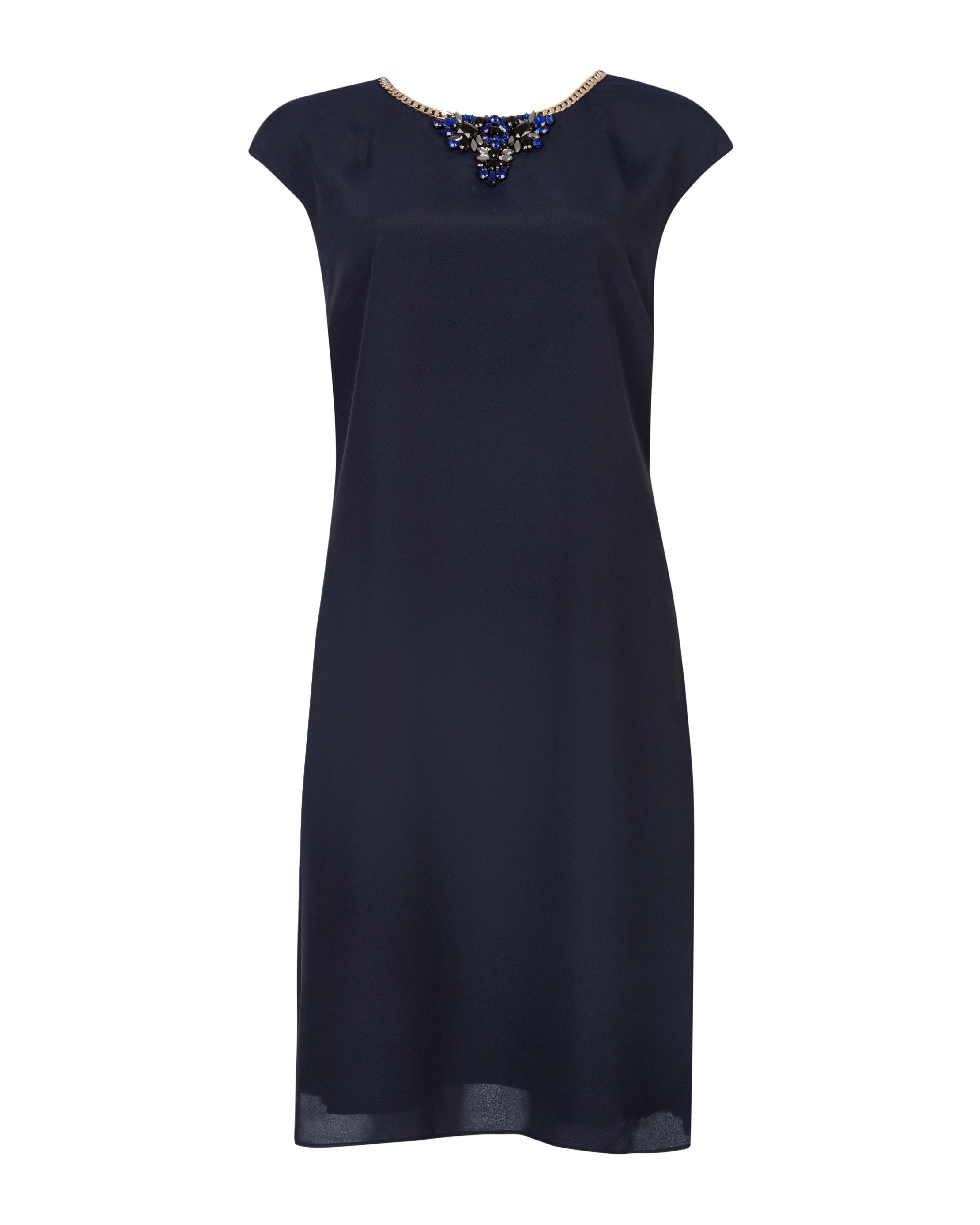 Kimmiye embellished tunic dress
