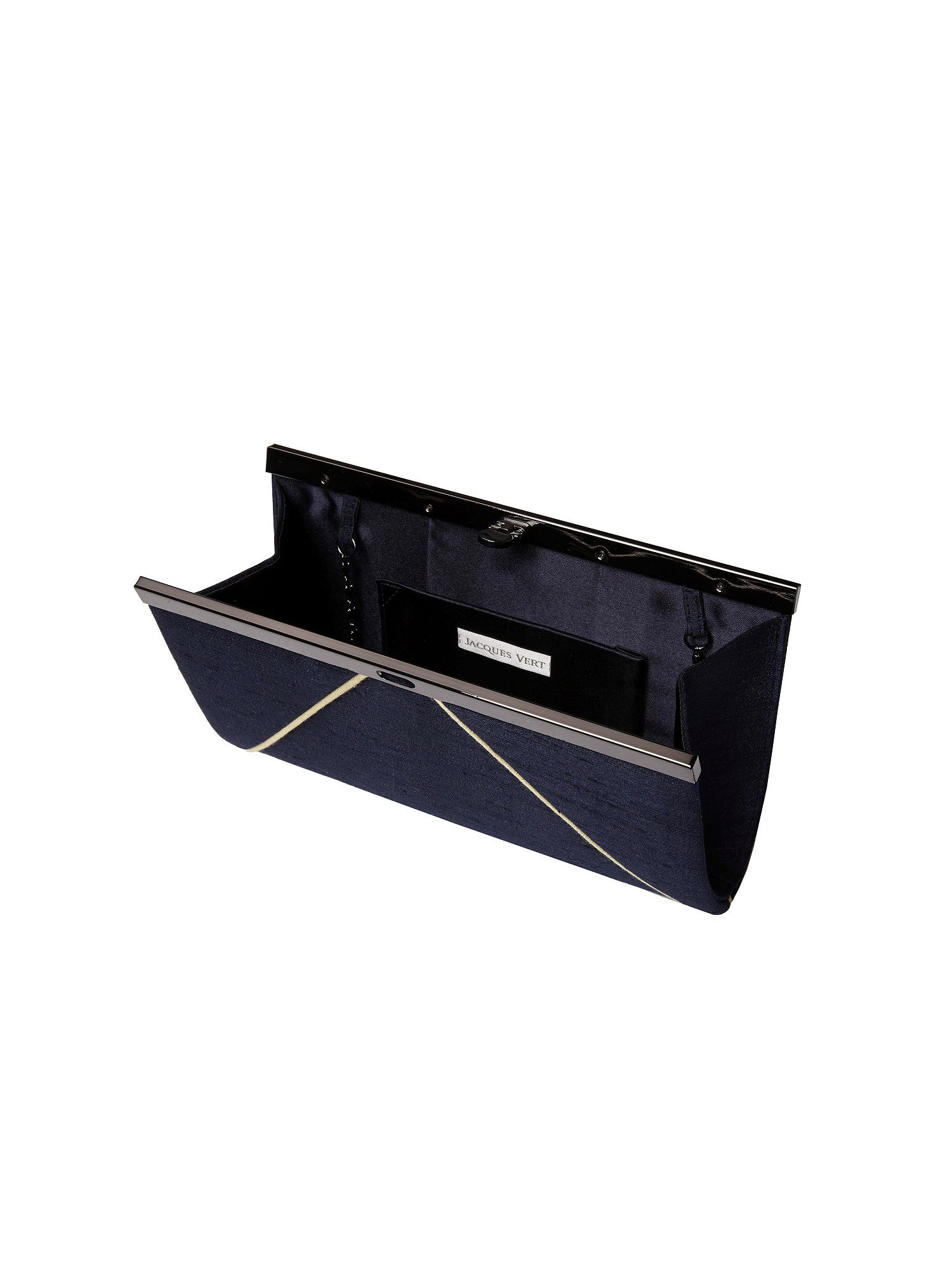Frame clutch bag