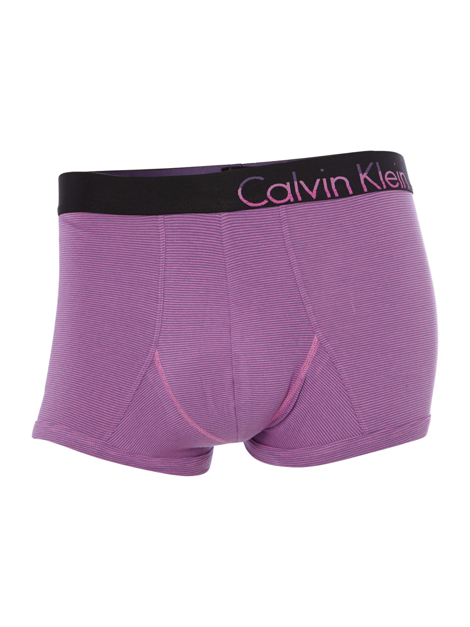 Thin stripe underwear trunk