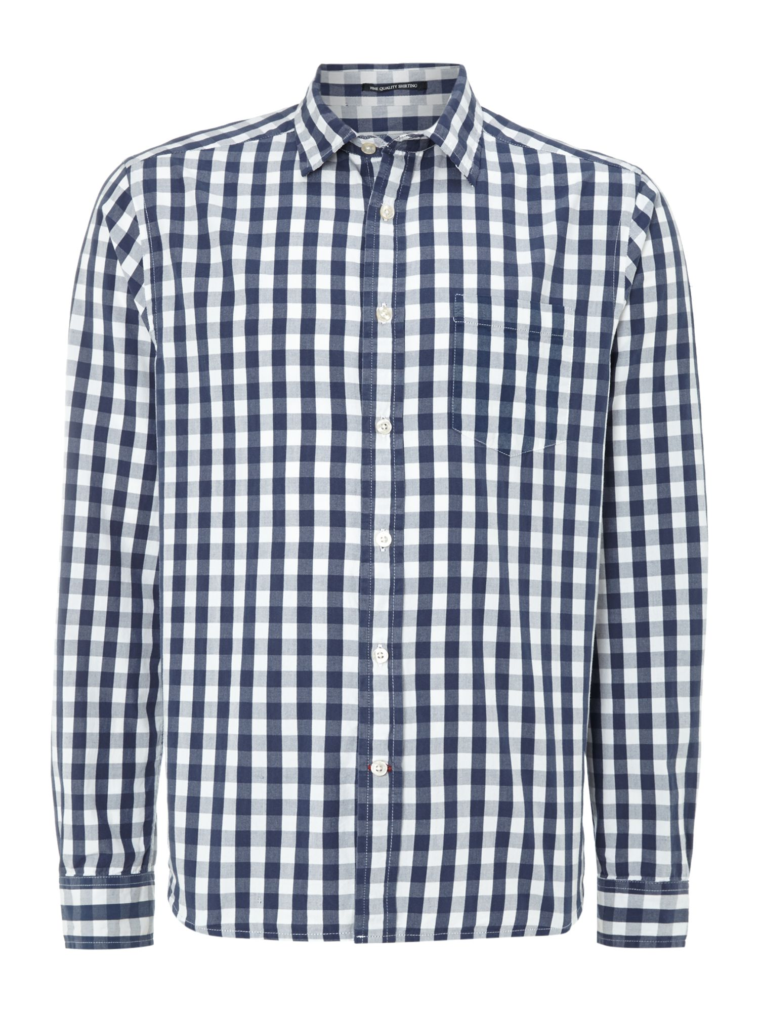 Riverside gingham check shirt