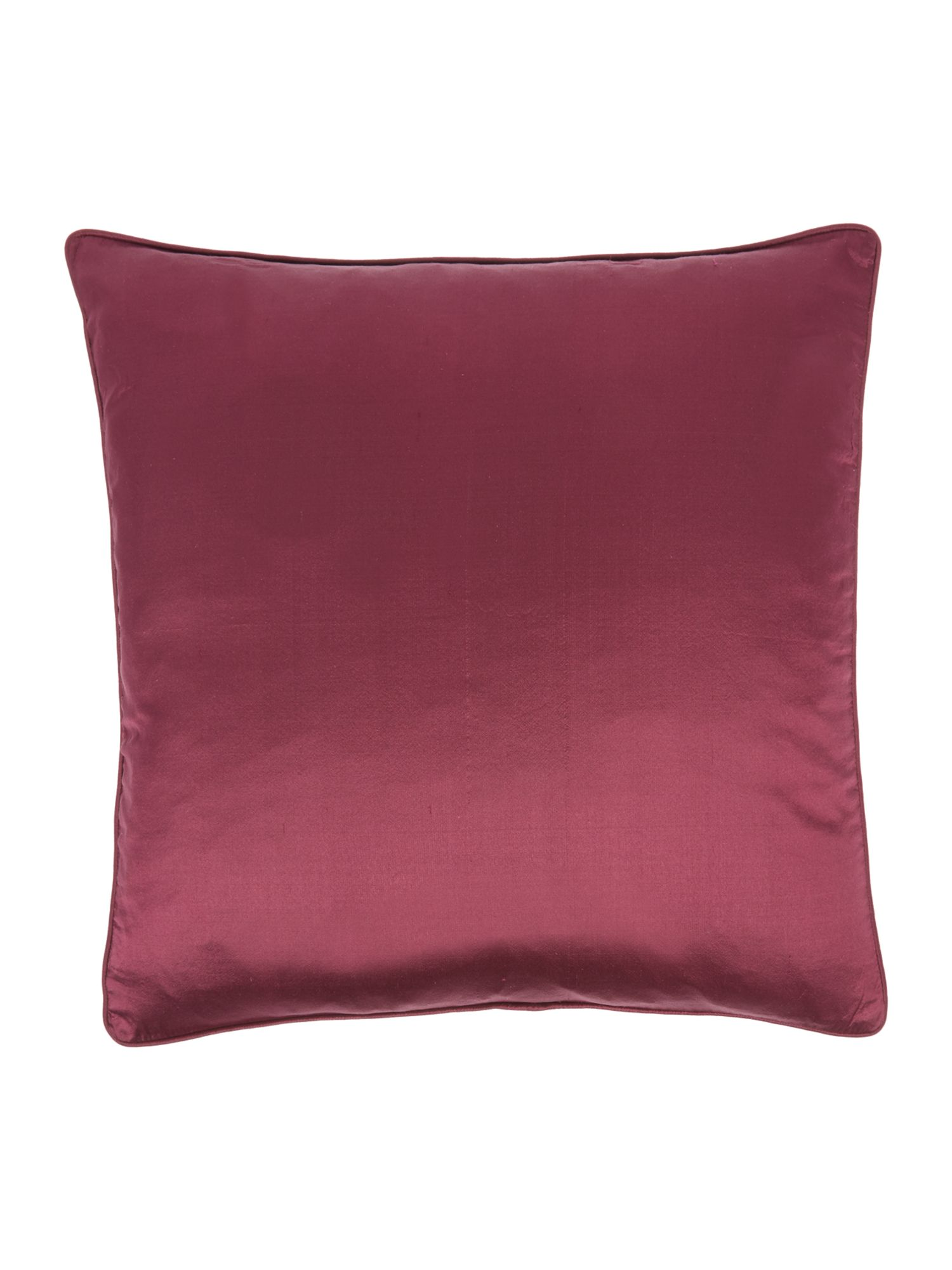 Oversized silk cushion, Purple