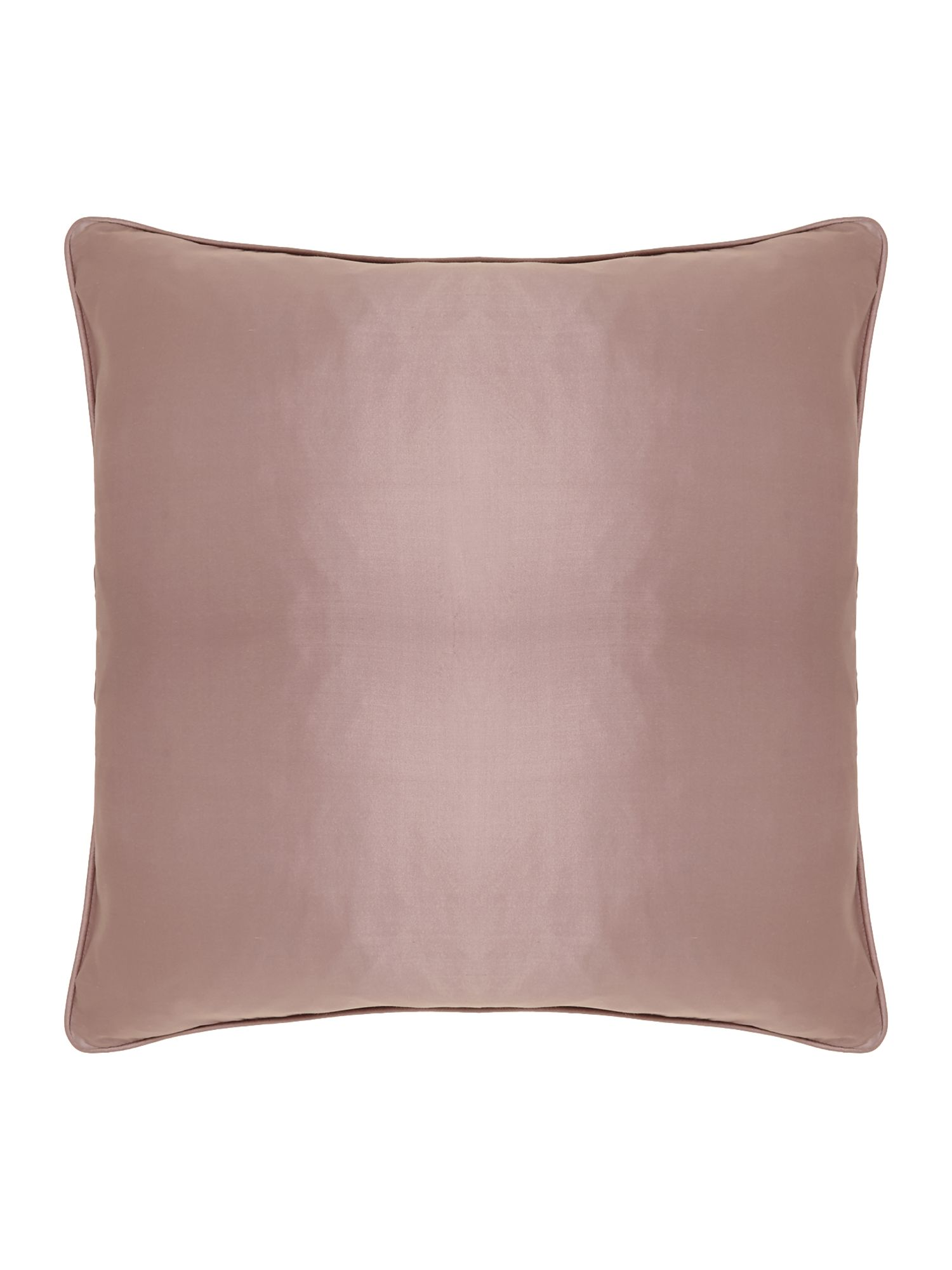 Oversized silk cushion, Blush