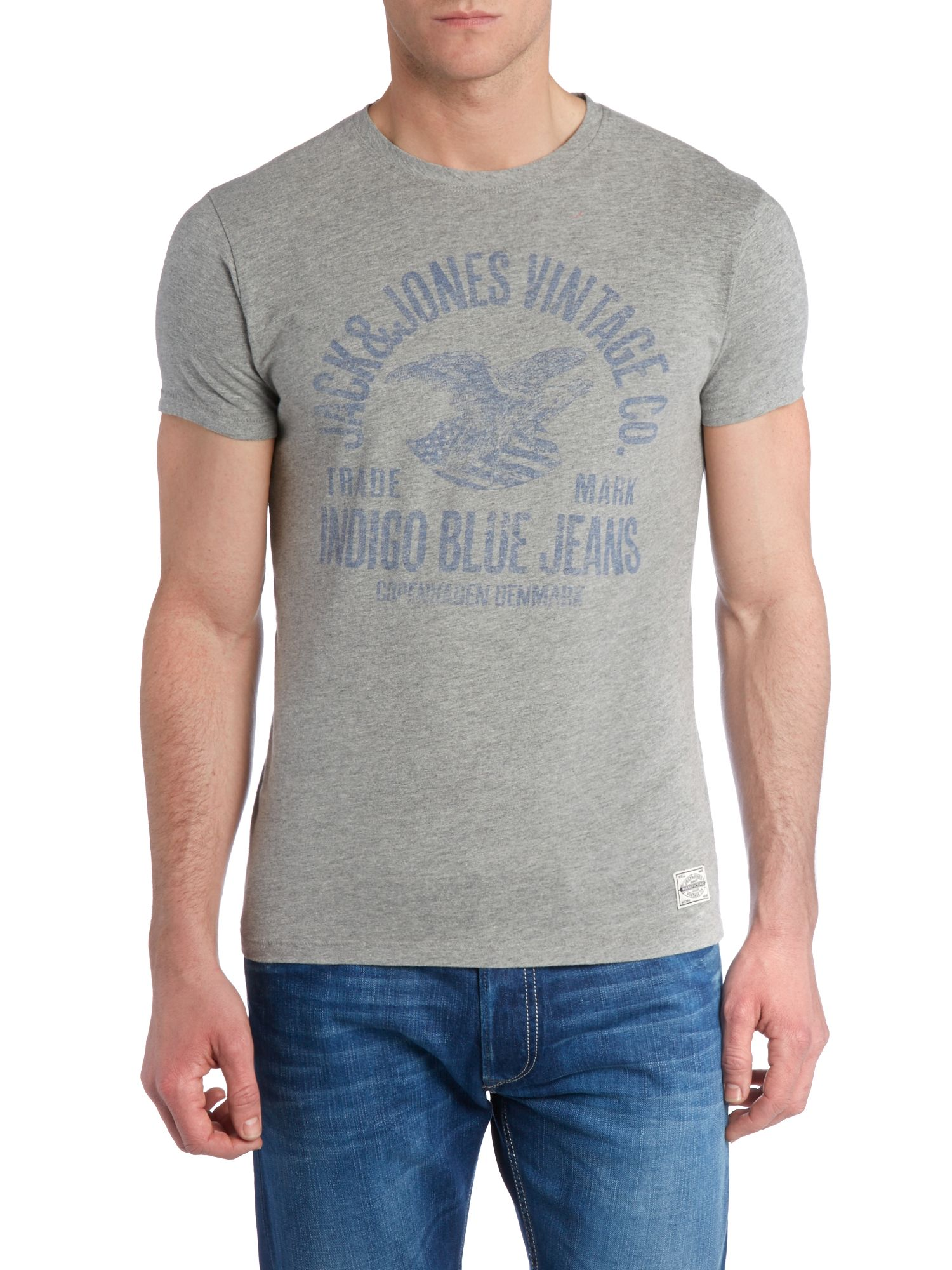 Indigo Blues logo t-shirt
