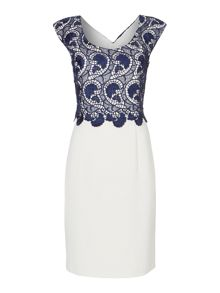 Shubette Guipere lace shift dress