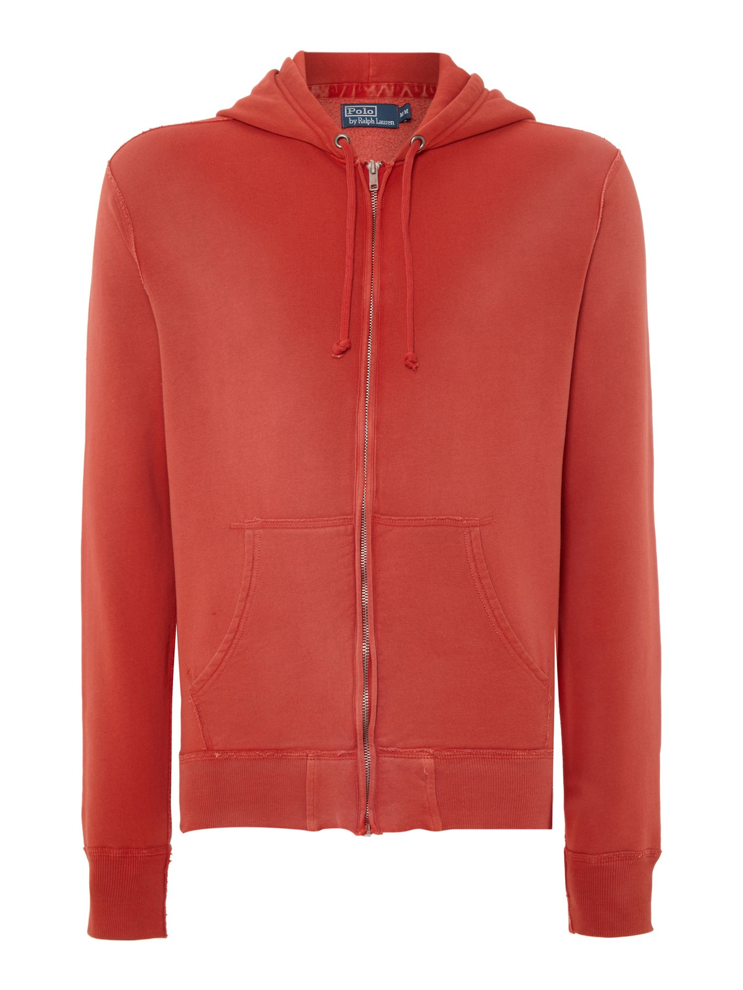 Zip up fleece sweat top