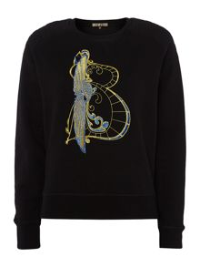 Embroidered Initial Sweater