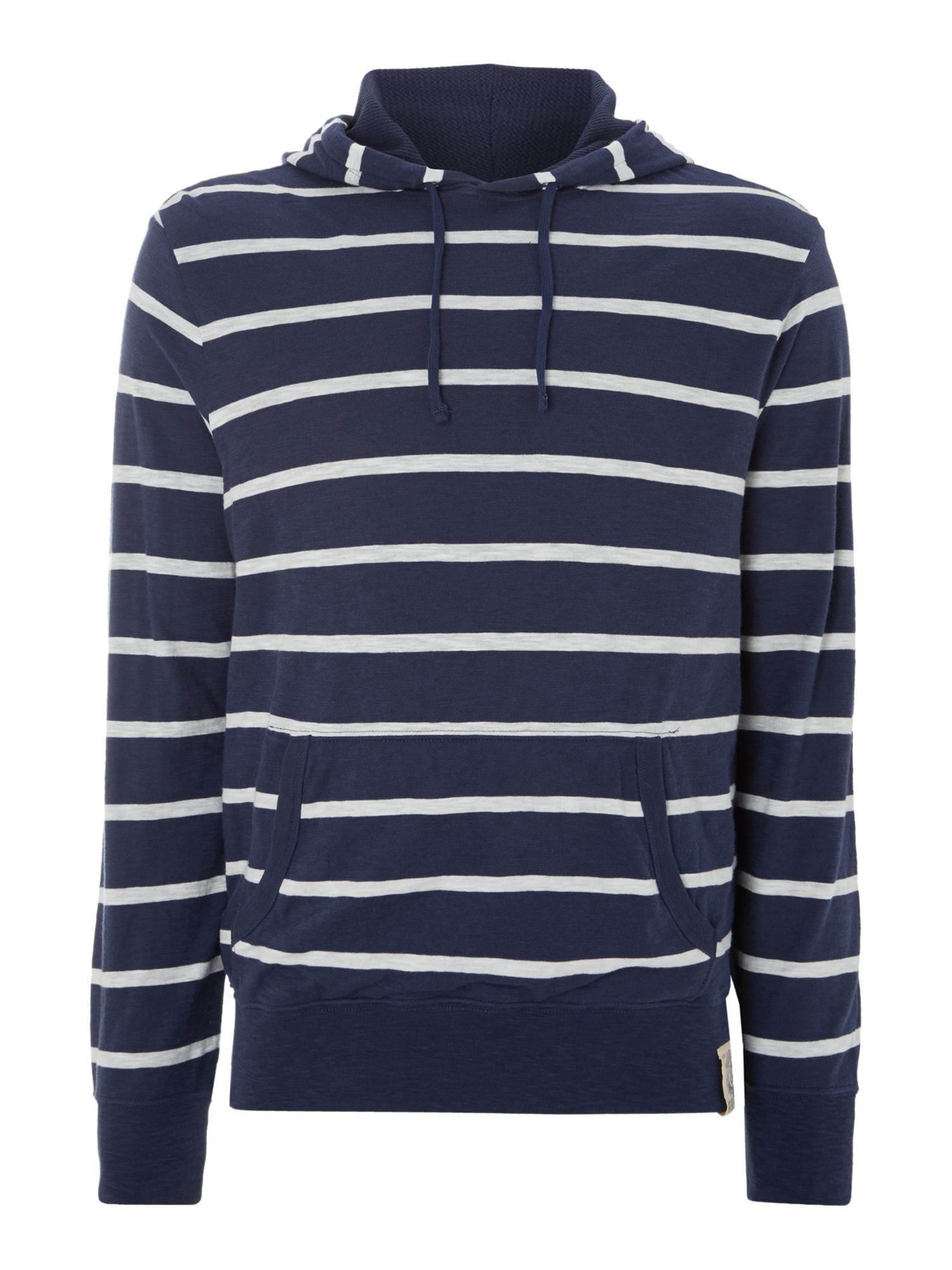 Striped hoody