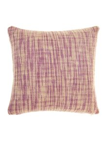 Oversized woven cushion, Purple