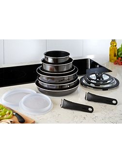 Tefal Ingenio enamel 13 piece set