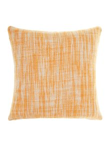 Oversized woven cushion, Rust