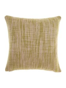 Oversized woven cushion, Green