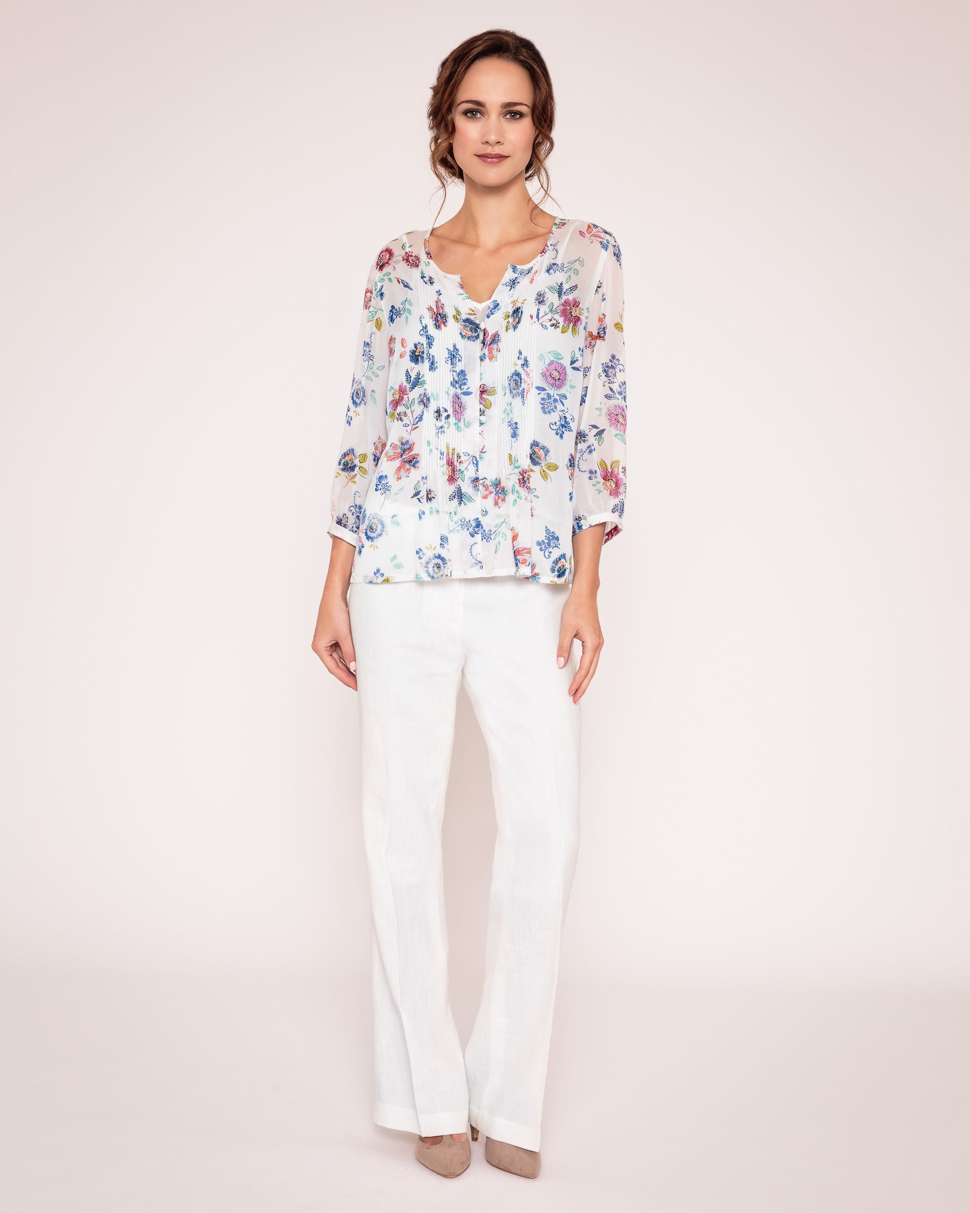 Juno georgette blouse