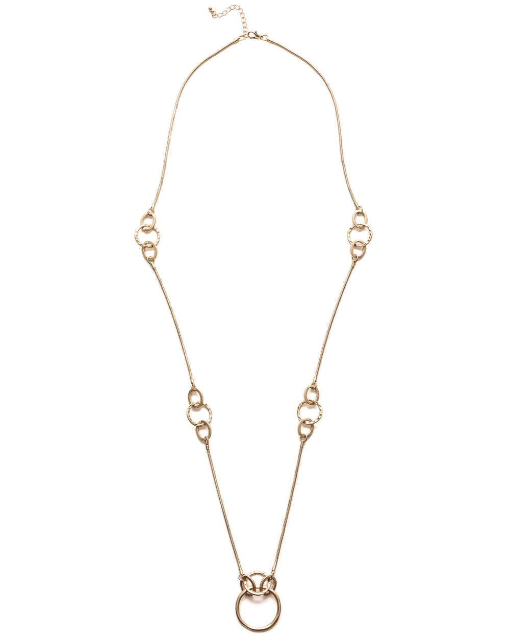 Irregular link necklace