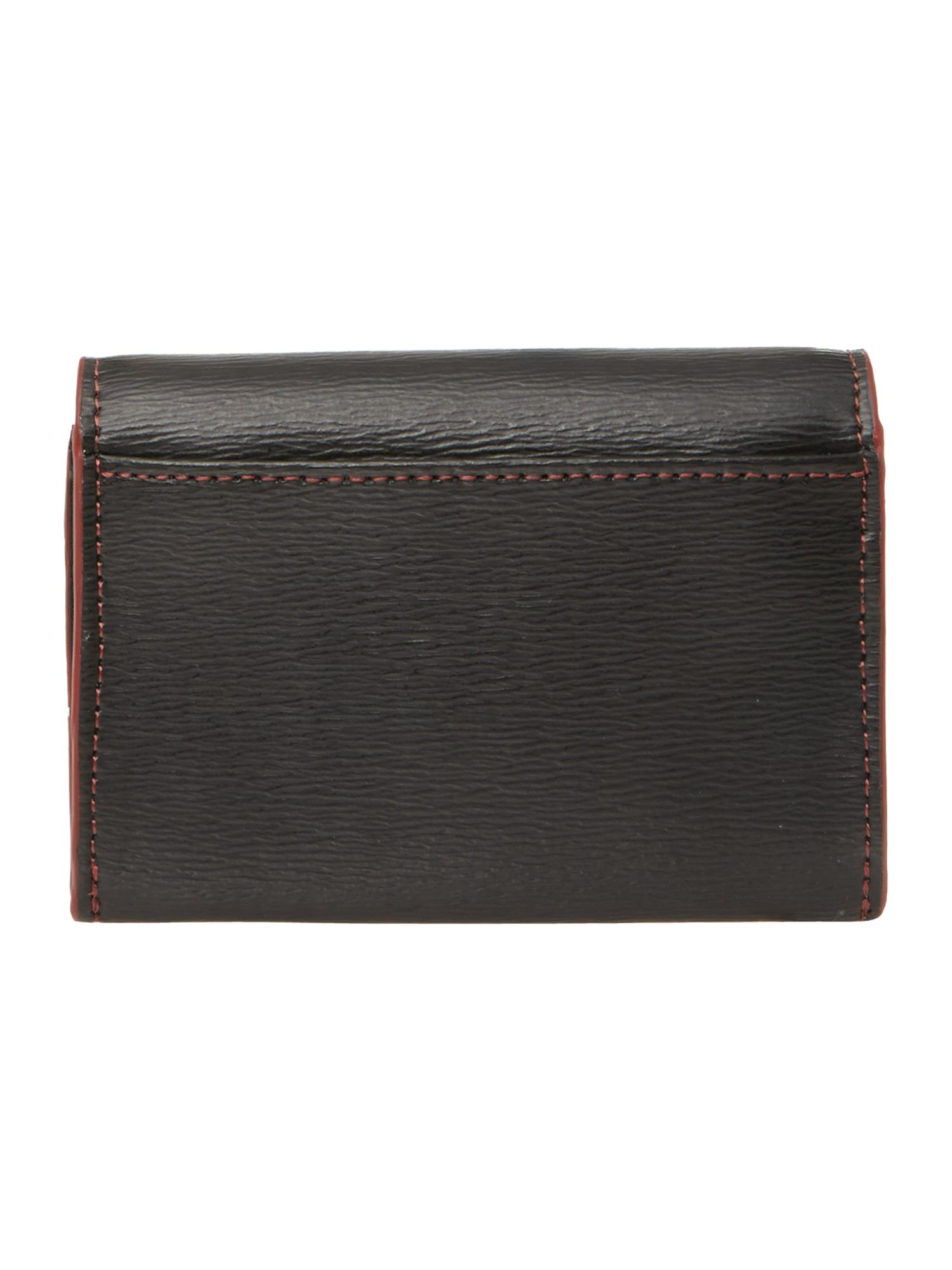 Black zip coin purse
