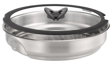 Tefal Ingenio steamer with glass lid