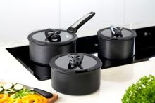 Tefal Ingenio 16, 18 and 20cm glass lids