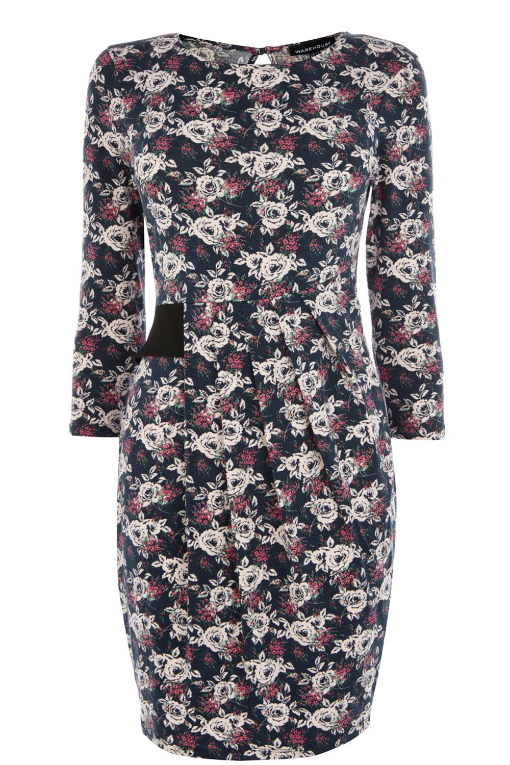Rose floral day dress