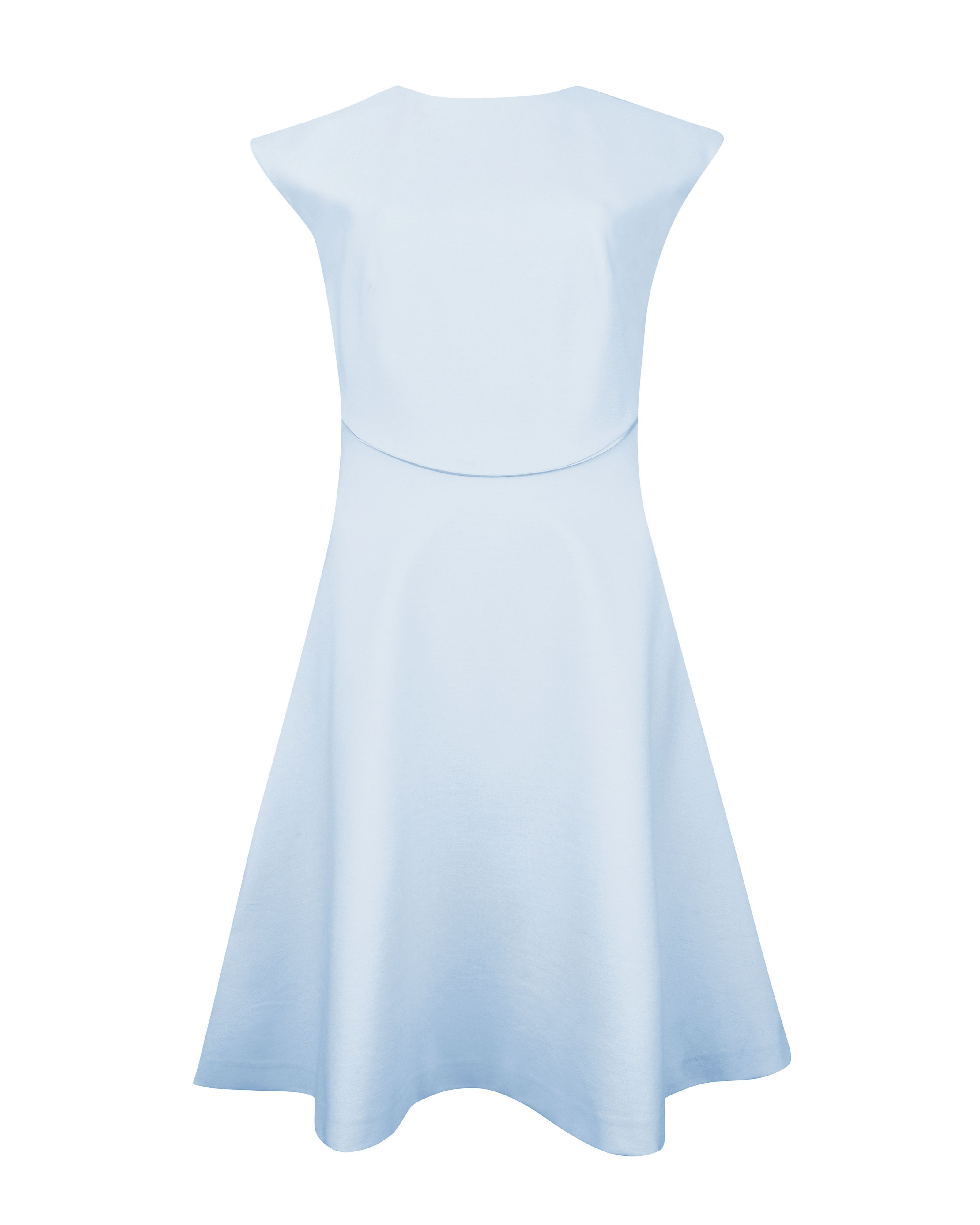 Claudie seam detail dress