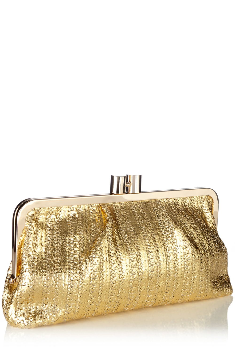 Carmen frame clutch bag
