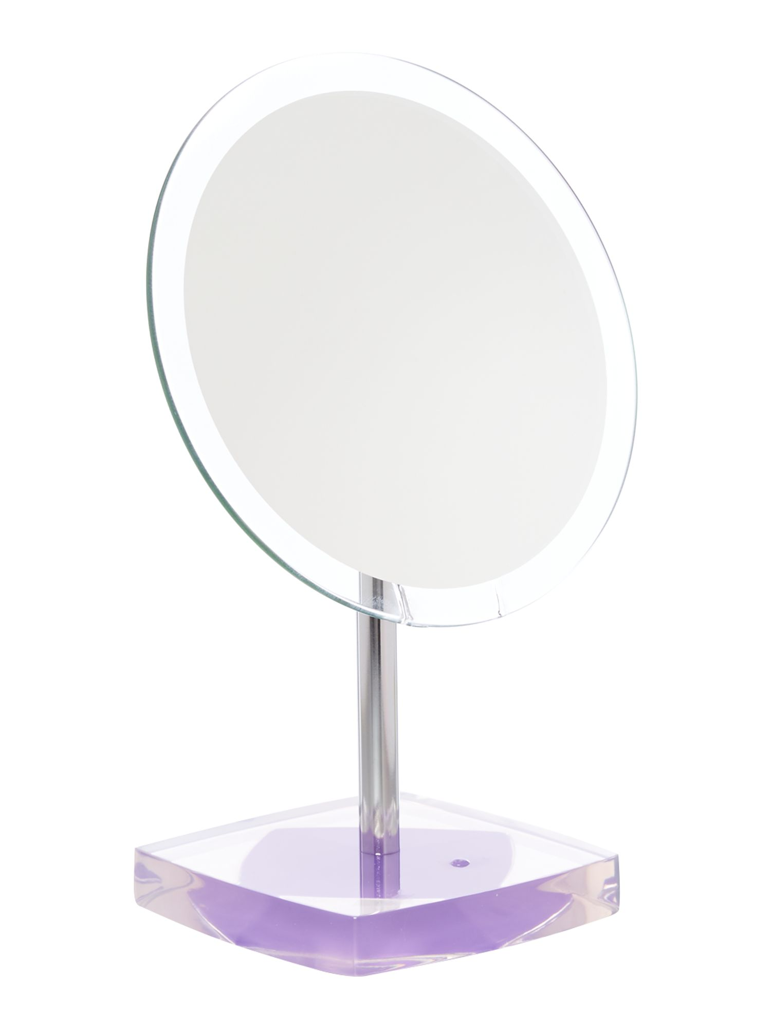 Acrylic base mirror purple