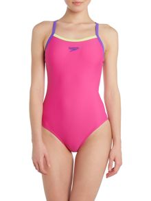 Thinstrap fit swimsuit