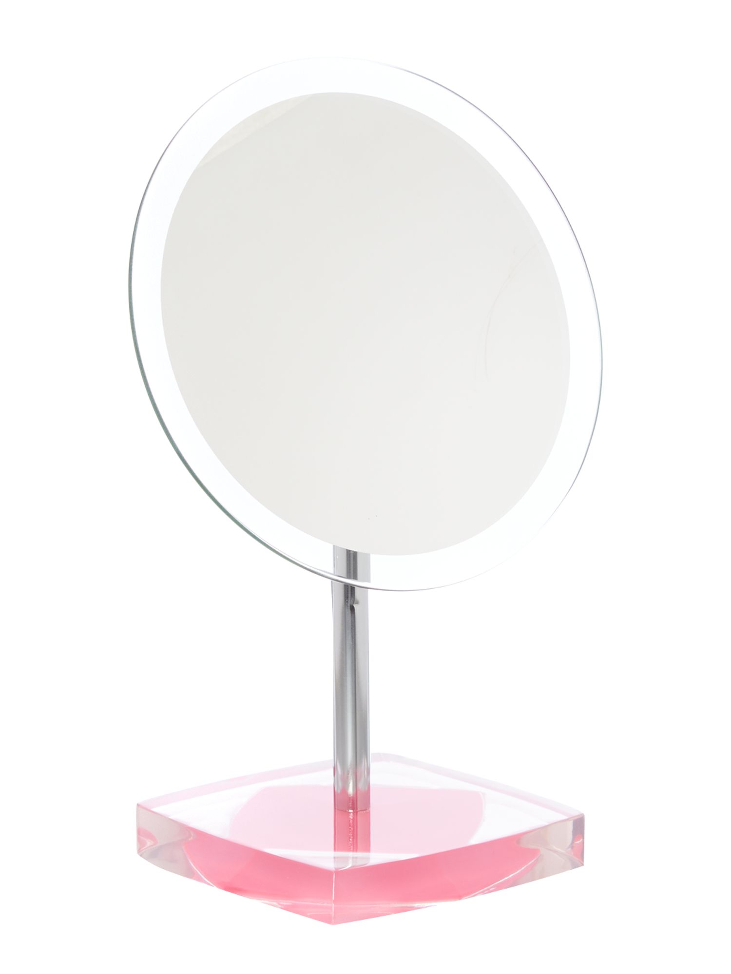 Acrylic base mirror pink