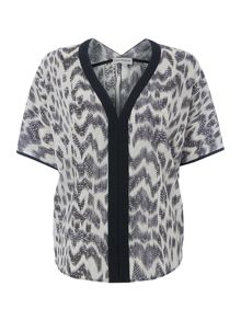 Smudge print top