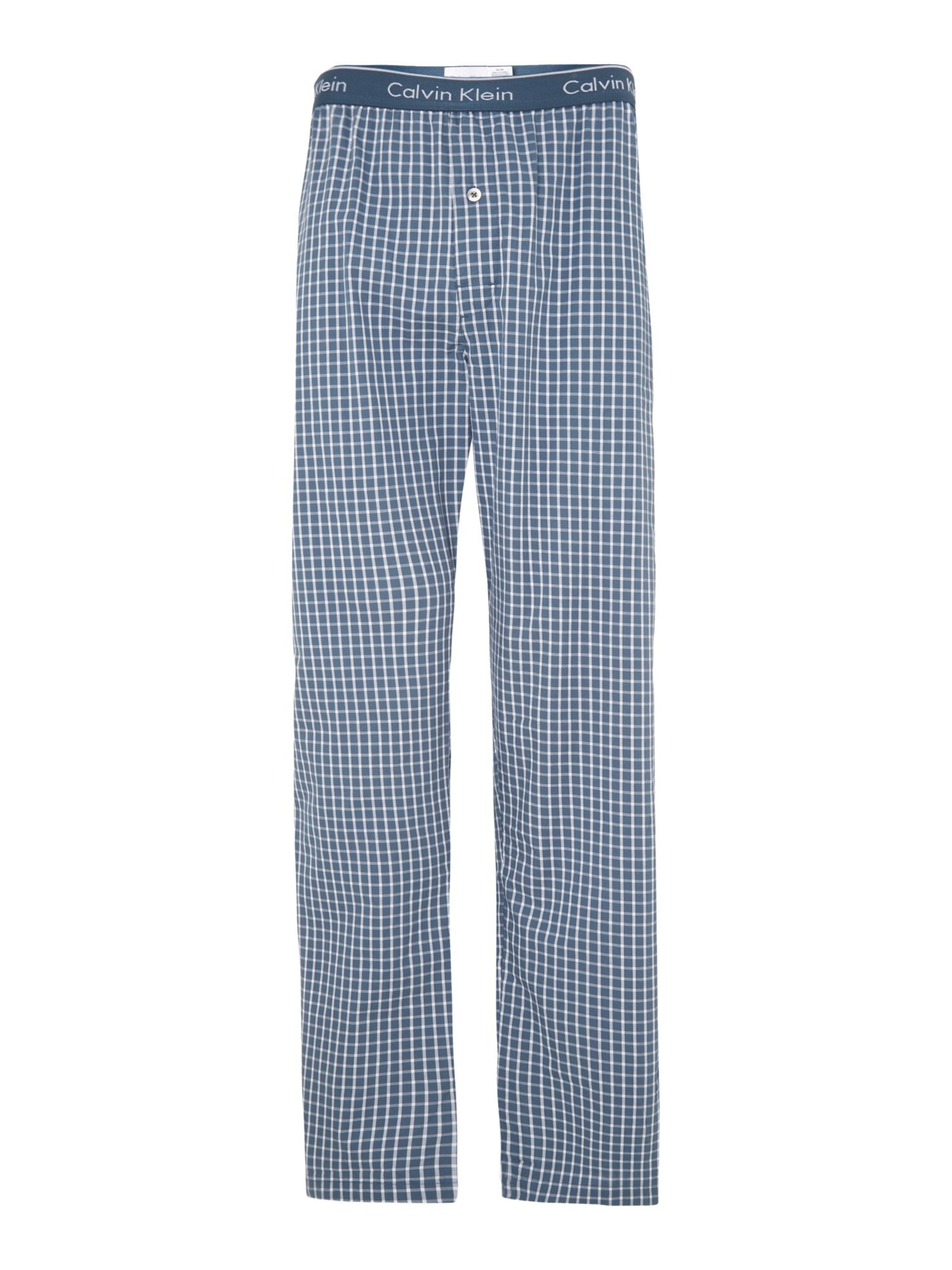 Micro plaid nightwear pant
