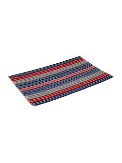 Yacht Club Stripe Bath Mat