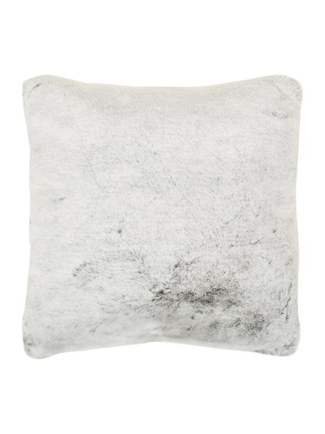 Linea Grey Faux Fur Cushion