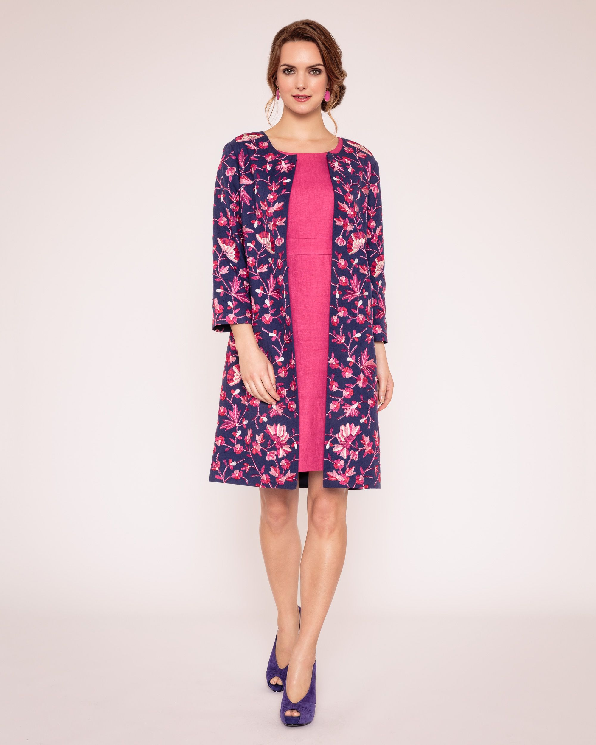 Cornelia embroidered coat