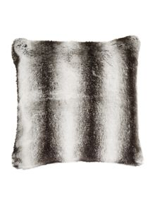 Ombre faux fur cushion