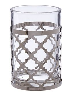 Living by Christiane Lemieux Fretwork Glass Tumbler