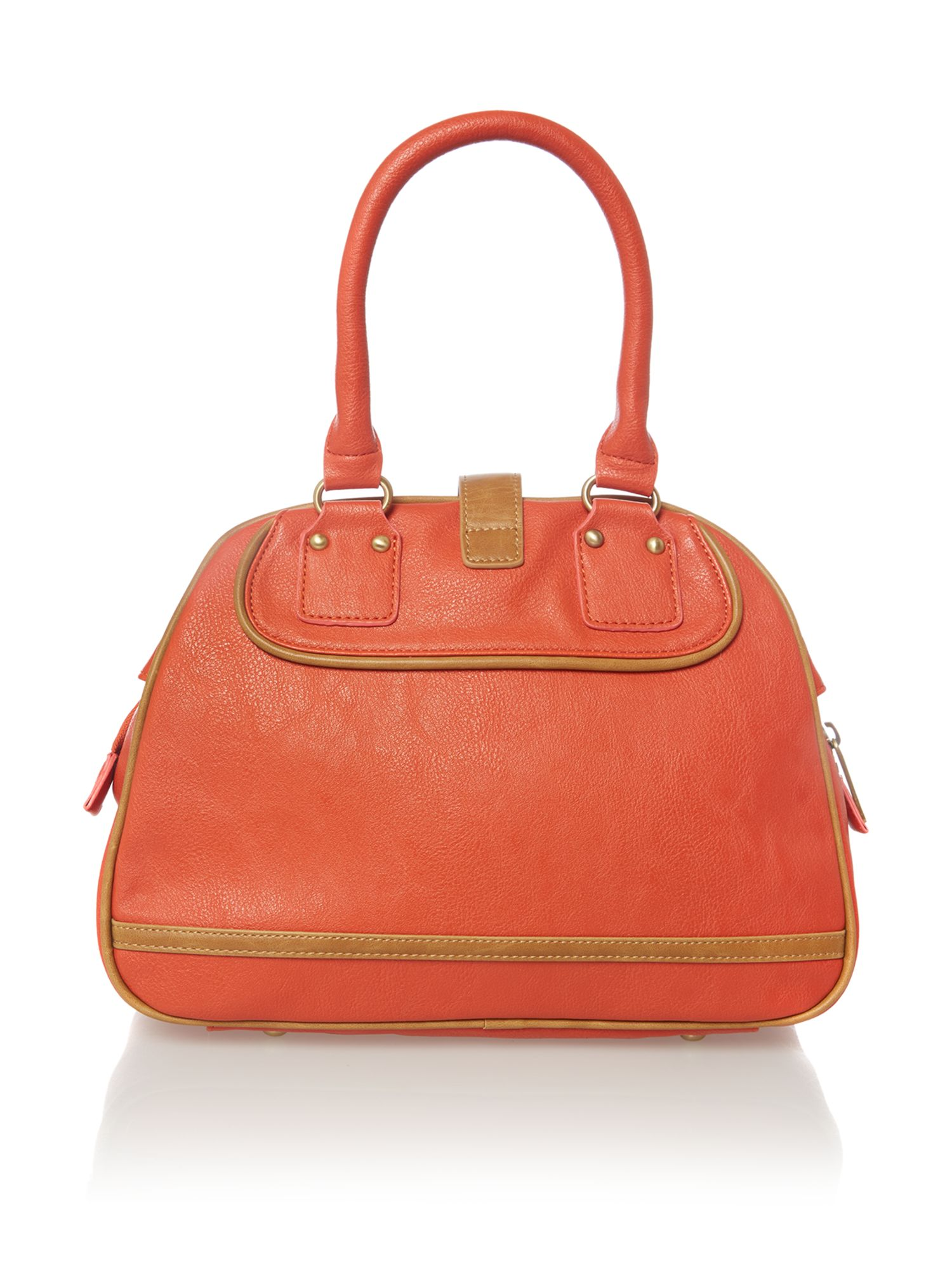 Bear orange cross body bag