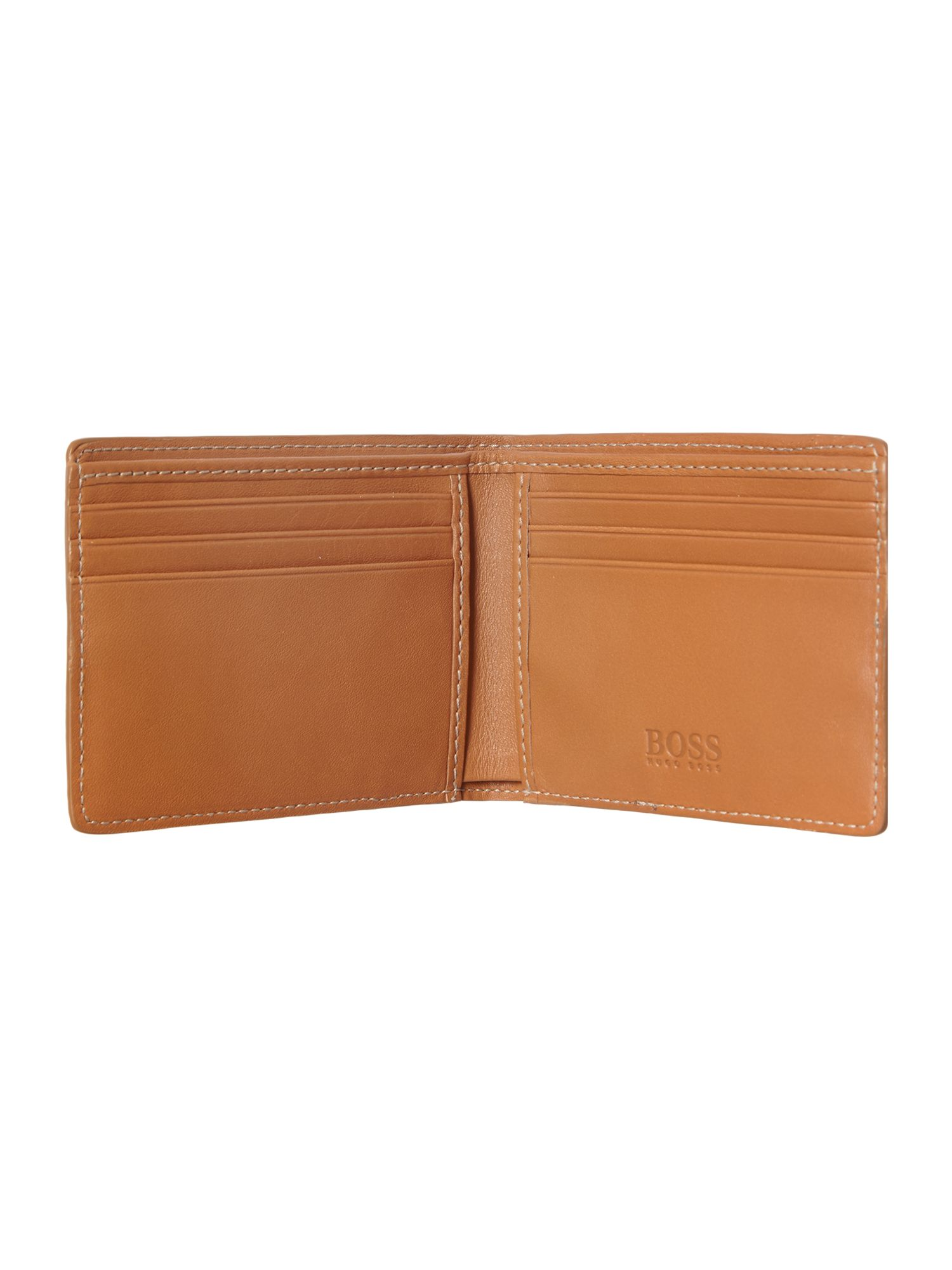 Ivoire leather billfold wallet
