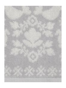Scandi grey pack of 2 hand towels