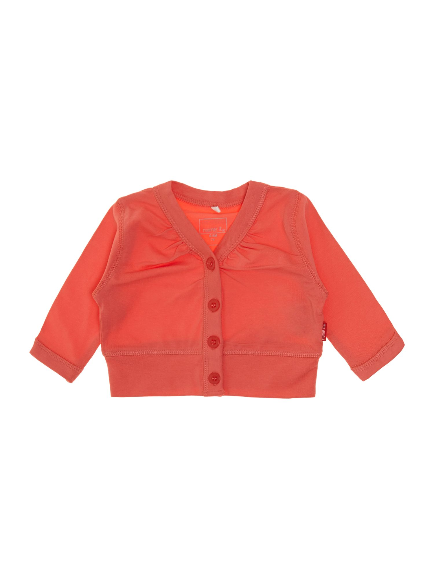 Girls button down bolero with 3/4 sleeves