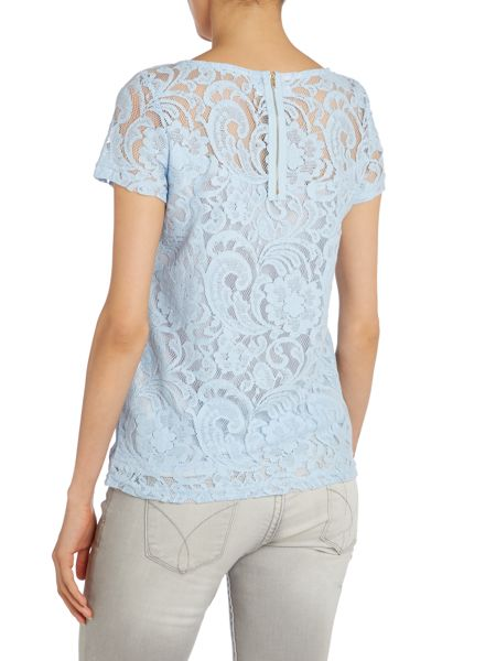 True Decadence Luxe lace tshirt