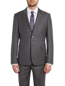Bonne debonair slim fit PoW check suit jacket
