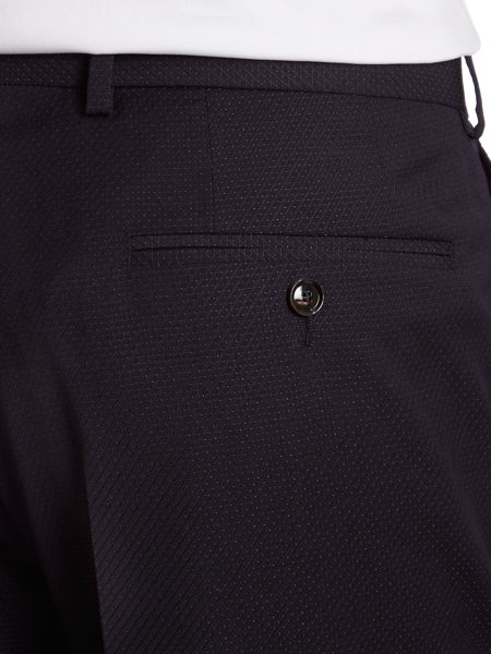 Ted Baker Banyan sterling regular fit pin dot suit trouser