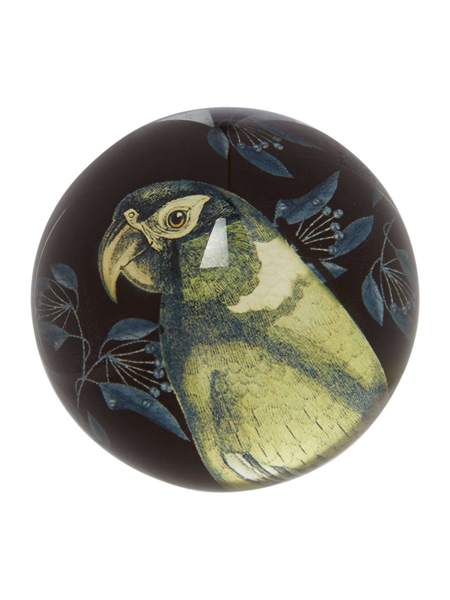 Parrot paperweight