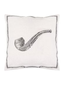 Gentlemans` pipe icon cushion
